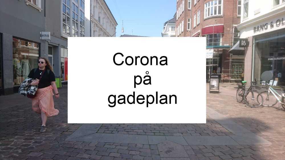 Covid på gadeplan